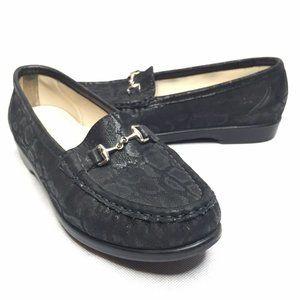 SAS Tripad Comfort Metro Loafers Horsebit Black